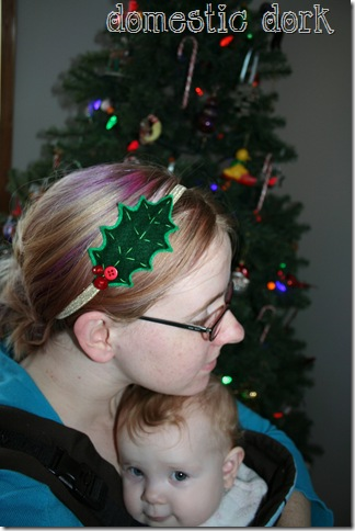 etsy holly head band hair purple