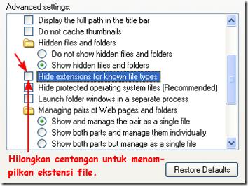 Folder Options2