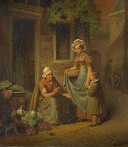 RIJKS: Lambertus Johannes Hansen: painting 1845