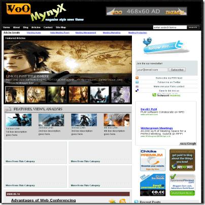 voo-mynyx blogger template