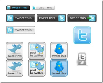 tweet this buttons 1