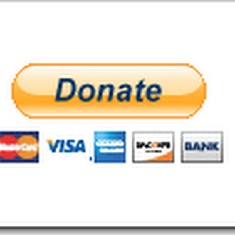 How to add Paypal donate button to blog