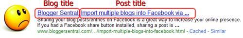 unoptimized page title