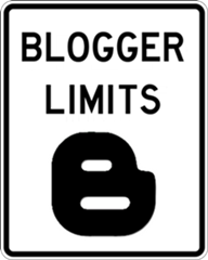 blogger limits