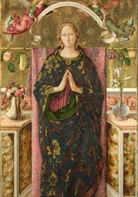 The Immaculate Conception, 1492, Carlo Crivelli