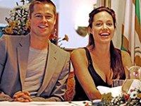 Pitt and Jolie