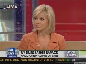Screen shot of Gretchen Carlson