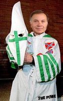 Tancredo photoshopped into a klan outfit