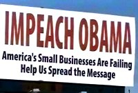 'Impeach Obama' billboard