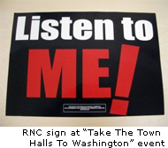 GOP-funded sign