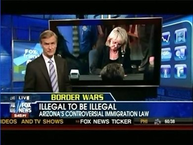 FOX News runs 'Illegal to be Illegal' headline