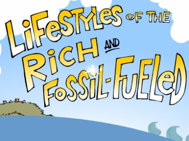 Lifestyles of the rich and fossil-fueled