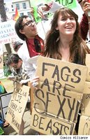 Sign, Fags are sexy beasts