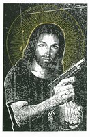 Jesus with a gun