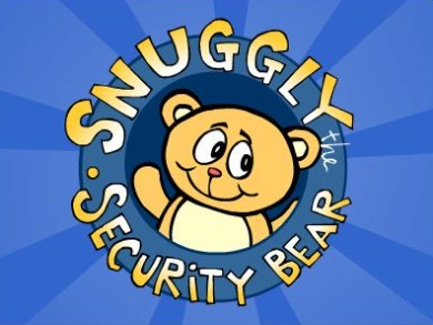 Snuggly the Security Bear