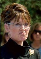 Palin scowls