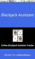 Screenshot of Blackjack Assistant