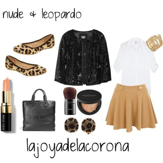nude & leopardo