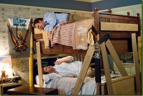 bunk bed on movie