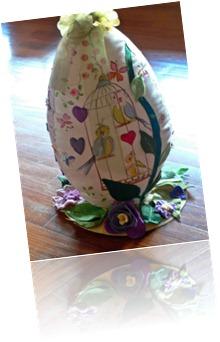 Uovo lato rami