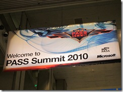 Welcome to PASS Summit 2010