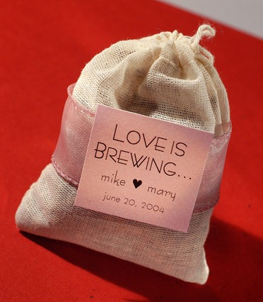 Tea Wedding Favor