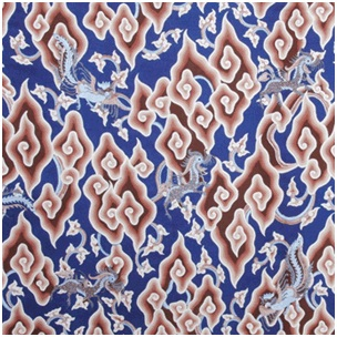 Indonesian Batik: Motif Batik art value Megamendung