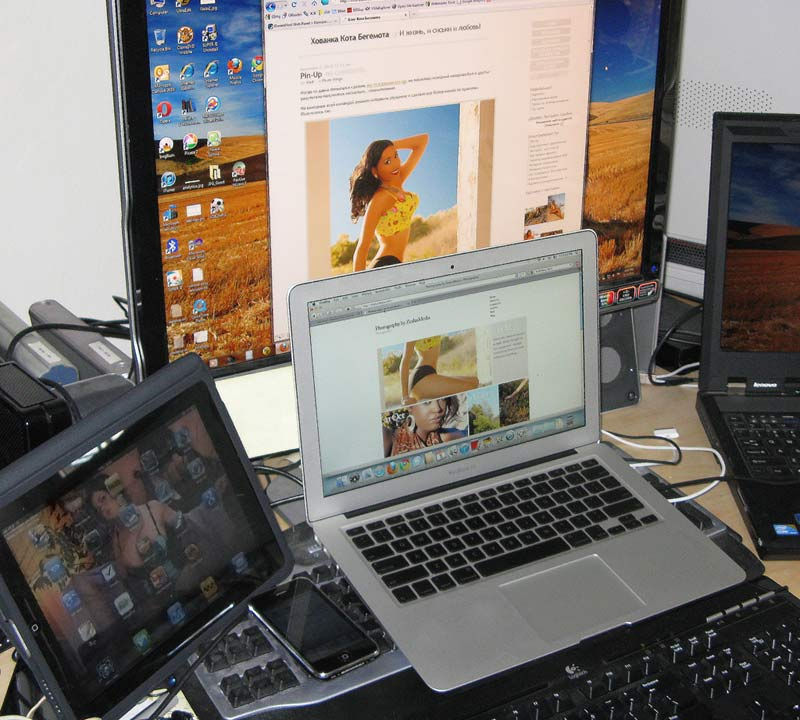 Loosing My Religion - MacBook Air, iPad, iPhone - Блог Букв.НЕТ