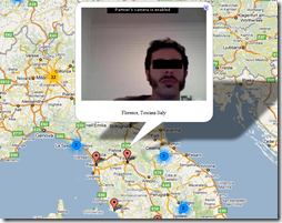 Chat Roulette Map on