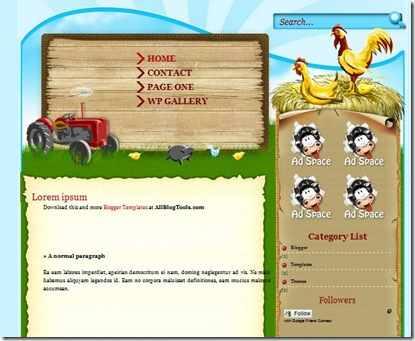 farmville-template