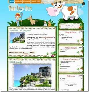 farmville-blogger-template