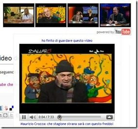 widget video youtube rai