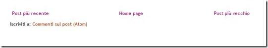 post più recente più vecchio homepage blogger