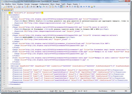 notepad   file xml dropbox
