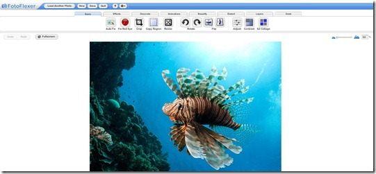 fotoflexer editor di immagini fotoritocco