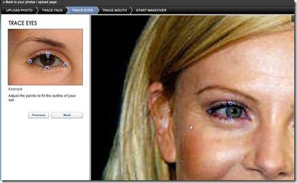 sincronizzazione contorno degli occhi