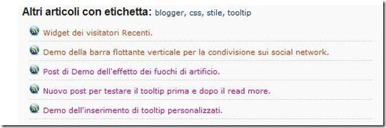 articoli simili correlati blogger