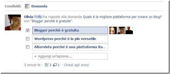risposte facebook