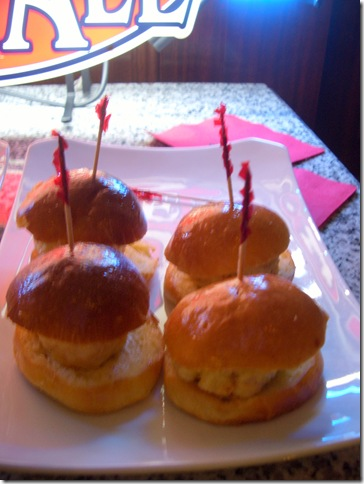 Burger Bar Salmon Sliders