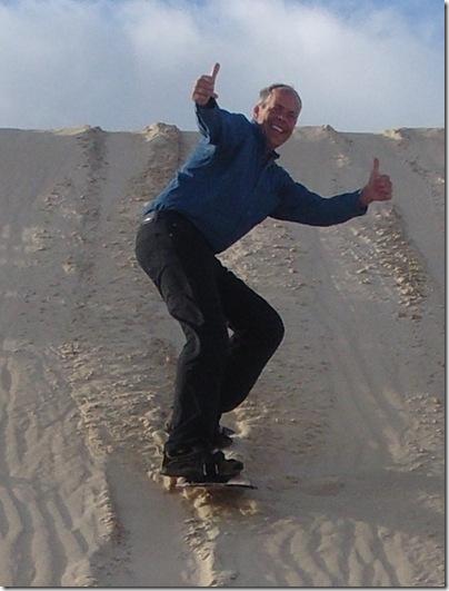 Steve Sandboarding