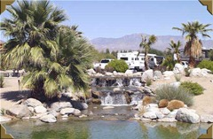 Borrego waterfall