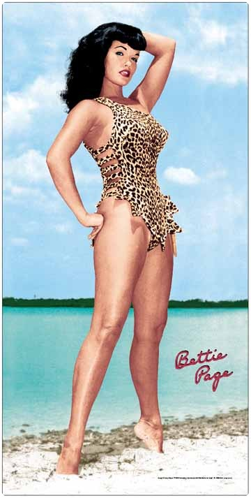 Bettie-Page-Beach-Towel