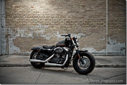 2010-Harley-Davidson Forty-Eight