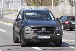 2012 Mercedes M-Class spy4