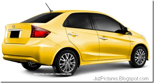 honda-brio-sedan-rear-yellow