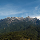 Mount Kinabalu on the Island of Borneo, Sabah