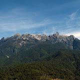 Mount Kinabalu on the Island of Borneo, Sabah
