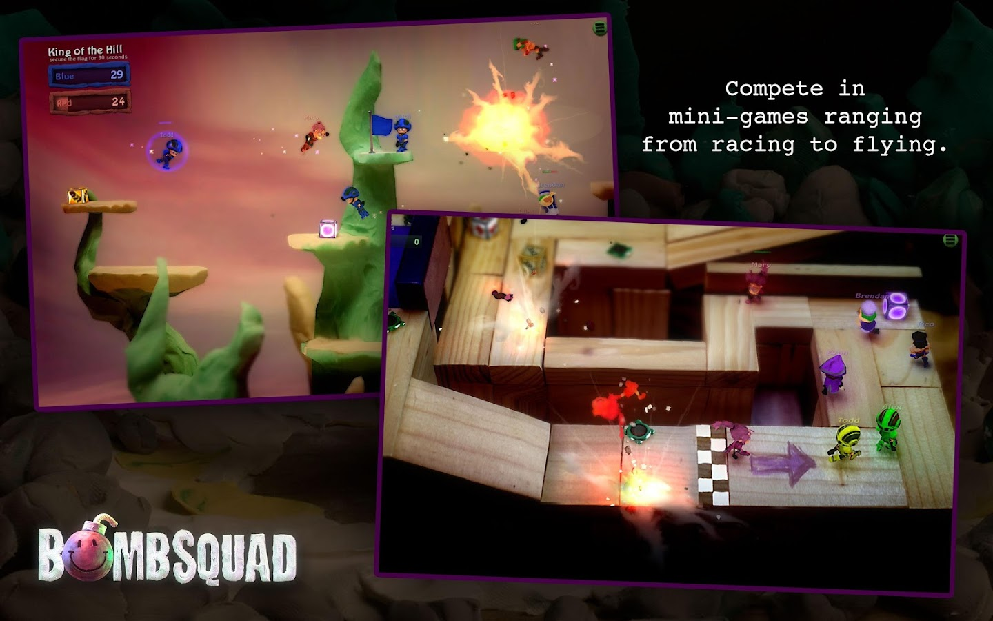 BombSquad VR for Cardboard Screenshot 3