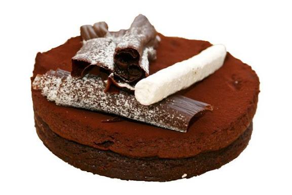En fantastisk laekker kage fra Schweizer Bageriet