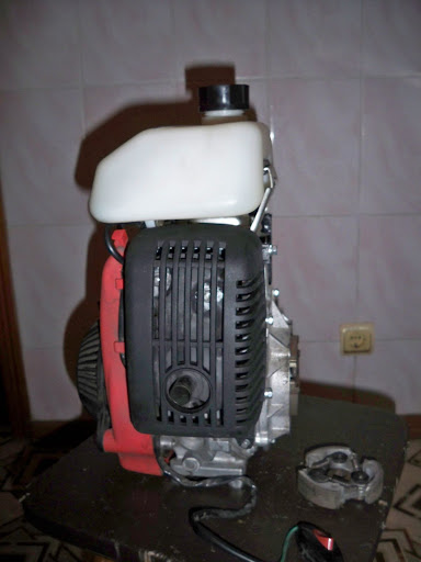 Вариатор + клон Honda 50 в раме